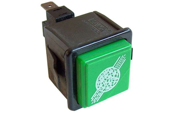 GREEN UNIPOLAR PUSH BUTTON