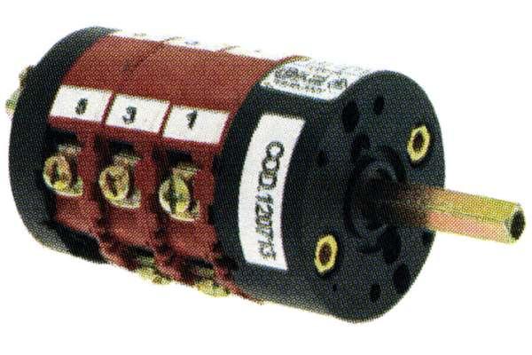 PENTAPOLAR COMMUTATOR 15A V250