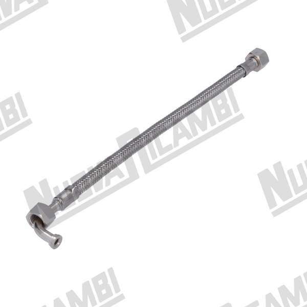 TUBO INOX 1/4F-1/4F 1CURVA 28cm