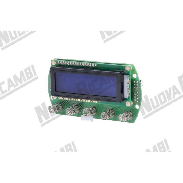 DISPLAY 5 TASTI CAPACITIVO