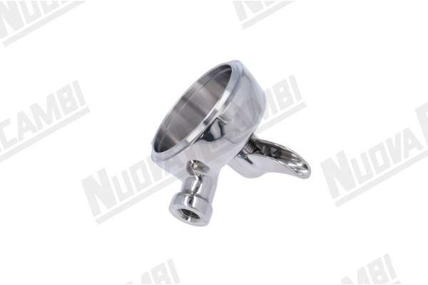 STAINLESS STEEL 15° ANGLED PORTAFILTER BODY 1 CUP WITH