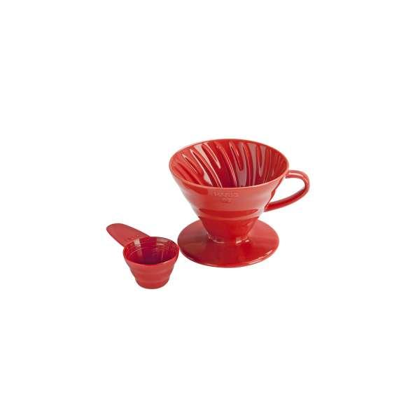 COFFEE DRIPPER V60 02 ROSSO CERAMIC