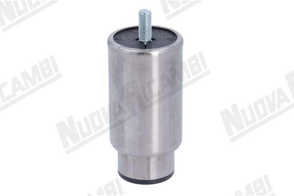 PIEDINO ESTENSIBILE INOX 110mm/160mmD.57mm M10/20mm
