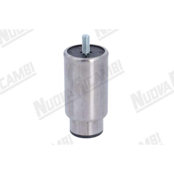PIEDINO ESTENSIBILE INOX 110mm/160mm D.57mm M10/20mm