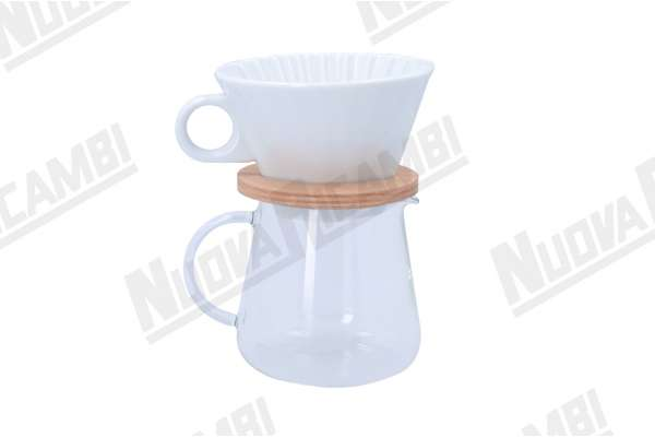 COFFEE POT AND DRIPPER SET 400ml
