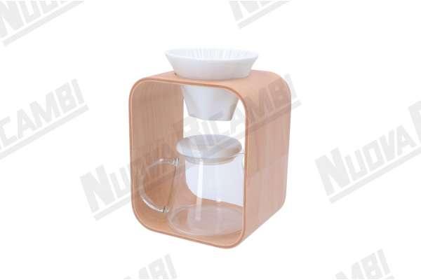 COFFEE POT AND DRIPPER SET ( BARAFU ) 600ml