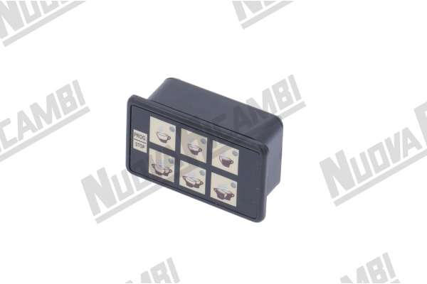 TOUCH PAD 6 BUTTONS +1 CMA ASTORIA 6 LED 10 PIN