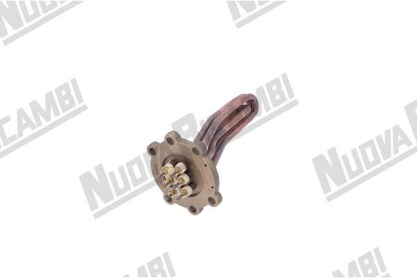 RESISTENZA GR/2 - V230/400 - 2700W - 6 POLI - L. 175mm - NUOVA SIMONELLI