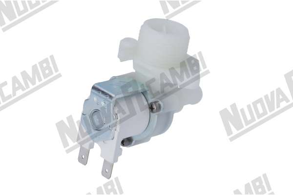 SOLENOID VALVE SINGLE 90° PIPE CONNECTION Ø 10