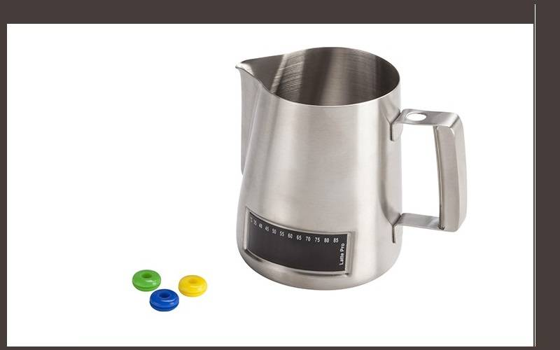 nuova ricambi latte art jug with thermometer