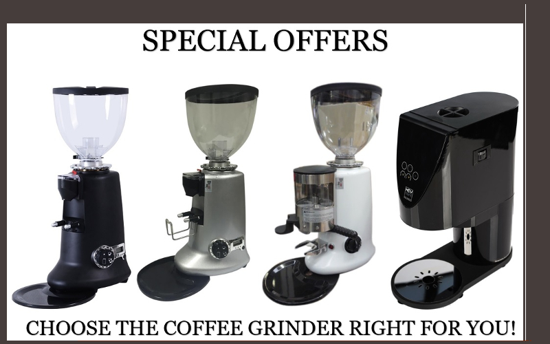 Coffee grinders - Special offers