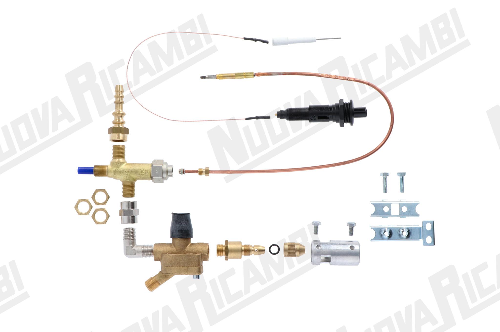Kit gas rg10 dx for Rg italia osmosi