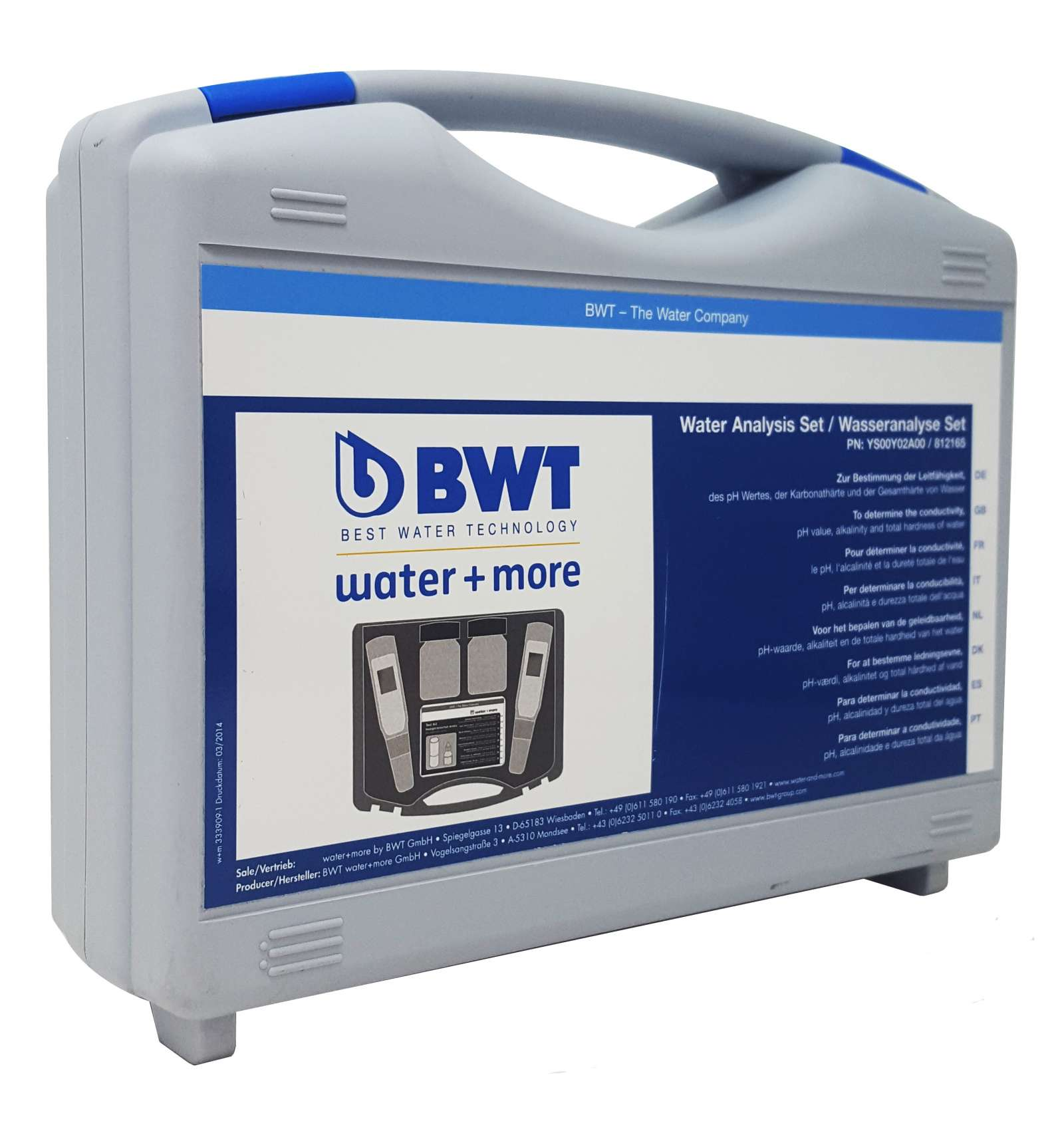 WATER ANALIZING SUITCASE